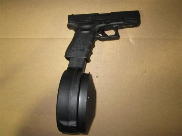 Glock 18 extended clip